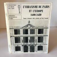 Francastel L Urbanistica Di Parigi Europa 1600-1680 Klincksieck 1969 Segno Art