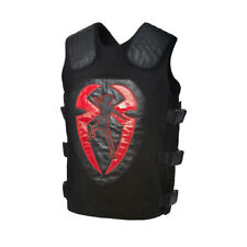 WWE ROMAN REIGNS IT'S MY YARD BLACK/RED REPLICA VEST OFFICIAL NEW