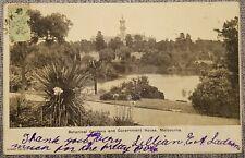 1904 Victoria - Malta Postcard + Tax Marks+ PD 2d Unframed type PD-21 + PPH 10