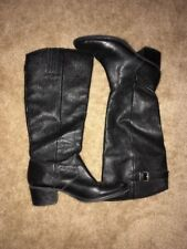 Made In 🇧🇷 Matisse Tundra Stone Black Leather Knee High Boots Size 8M