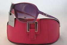 Lunettes de soleil rose violet pour femme