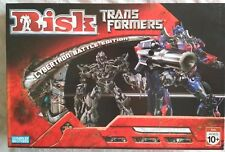 RISK Transformers Cybertron Battle Edition Parker Bros. 2007 Excellent Condition