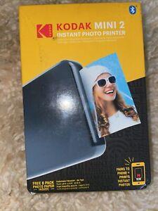 New Kodak Mini 2 HD Wireless Portable Mobile Instant Photo Printer KOD-MP2B