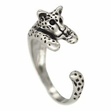 Charm Panther Ring Retial Panther Leopard Animal Ring Retro Panther Open Rings