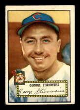 1952 Topps #217 Snuffy Stirnweiss  VG X1767144