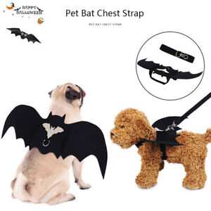 Bat Wings For Pet Dog Cat Costumes Halloween Cosplay Clothing Funny Dress Up_CG