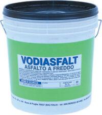 Vodichem Asfalto a Freddo diluibile in Acqua Impermeabilizzante 20Kg Vodiasfalt