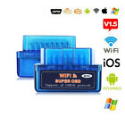 12v Wireless Wifi Elm327 V1.5 Obd2 Car Auto Scanner Tool Work For Androidios