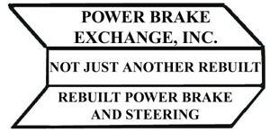 Power Brake Booster Pwr Brake Exchg 88126 fits 1981 Toyota Land Cruiser
