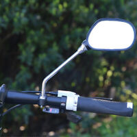 2Pcs Bicycle Mirror Handlebar Rearview Mirror Wide Angle 360 degree Rotate RGS
