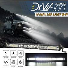 12 Inch Cree LED Slim Work Light Bar Spot Flood Combo Off-Road SUV Driving Lamp