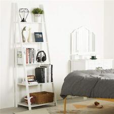 Used Ladder Shelf 5-Tier Bookshelf Wood Multifunctional Ladder Plant Flower