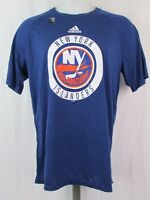 6d6e77d2d New York Islanders adidas Climalite NHL Men s Ultimate Practice T-shirt Blue