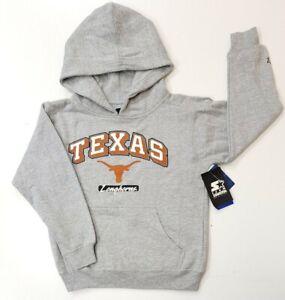 Kids Youth Boys University Texas Longhorns Hoodie Sweatshirt Sz 18/20 XXL/2XL