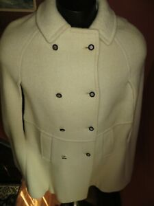VINTAGE Womens WOOL Cape COAT Made In AUSTRIA ORIGINAL LODEN Size 36