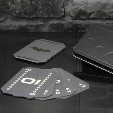 Official Batman Playing Cards - 52 Bat Logo Cards with 2 Jokers and Card Tin