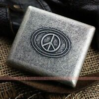 D33 Antique Silver Ultra-thin Gentleman Personality Pure Copper Cigarette Case K