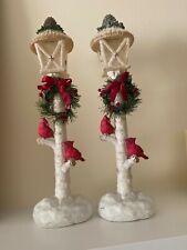 New ListingSet of Christmas lamp posts