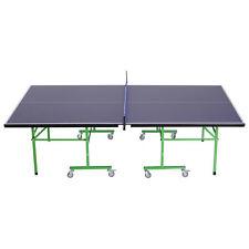 HOMCOM Tavolo da Ping Pong Professionale Pieghevole Interno Esterno 152.5 × 274