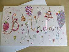 American greetings card Happy Birthday (TURNoWSKY) Amazing details Balloon's