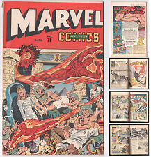 Marvel Mystery Comics #71 1939 Series Timely Human Torch Sub-Mariner April 1946