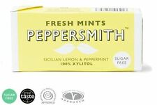 Peppersmith Lemon & Peppermint Mints 15g (Pack of 24)