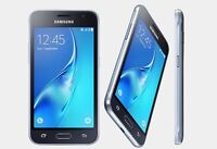 Brand New Samsung Galaxy J1 (6) 2016 SM-J120W 8GB - 4G Unlocked Smartphone Black