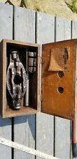 Vintage Farmstrong Bridgeport CT Pipe Threader Die Set W/ Original Box steampunk