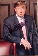 Authentic DONALD TRUMP SIGNED PHOTO GOP REPUBLICAN AMERICA PRESIDENT AUTOGRAPHED