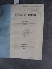 Koeberlé De la cataracte pyramidale envoi Monoyer ophtalmologie optique médecine