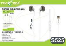 Cuffie Stereo AURICOLARI in Ear + Microfono USB-C type-C per Huawei Mate 10 Pro