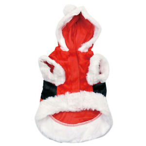 Pet Dog Cat Christmas  Warm Clothes Puppy Clothes Sweater Coat Dress Costume
