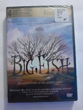 Big Fish (Dvd, 2004) Brand New Sealed Ewan McGregor, Albert Finney, Billy Crudup