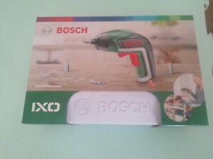 Bosch Green IXO 5 3.6v Li-ion Cordless Screwdriver + 10 Screwdriver Bits
