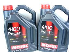 MOTUL POWER 4100 15w-50 ACEITE DE MOTOR 15w50 DIESEL GASOLINA MB VW 2x 5liter