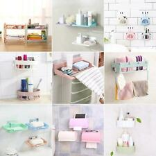 KE_ Kitchen Storage Rack Holder Sink Drainer Bathroom Soap Sponge Organizer No