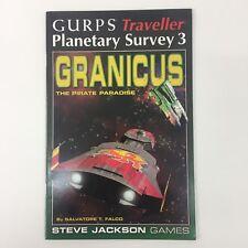 Steve Jackson Games GURPS viajero encuesta 3 Granicus Pirata planeta Planetario