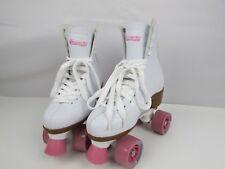 Chicago Skates Retro Style Roller Blades White & Pink Size 6