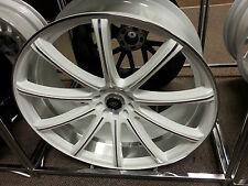 18 Inch White Diamond Edition # 3195 White Machine wheels rims fit 5X114.3 Civic