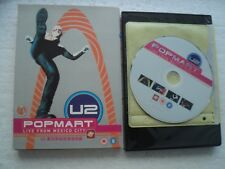U2 - LIve from MEXICO CITY - Rare HONG KONG release DVD / Plays all regions