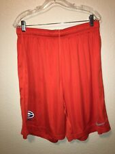 Nike Dri Fit Bishop Gorman Mens Football Shorts Sz XXL Orange