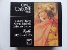 CD BOX CAVALLI / GIASONE Concerto vocale / René JACOBS   HMC 901282.84