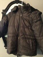 Boys Black Label Calvin Klein Jeans Puffy Jacket Size 10/12