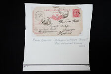 Italy Early Cartolina Postale 10 Cent Postcard