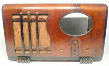 vintage* MARCONI of CANADA  RADIO part: Mid Century WOOD SHELL w/ SPEAKER CLOTH