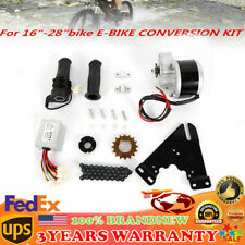 24V 250W DC ELECTRIC BICYCLE MOTOR KIT E-BIKE CONVERSION KIT w/ Controller USA