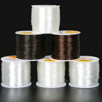 0.5/0.8/1mm Crystal Elastic Stretchy String Thread Wire Bracelet Beading Cord