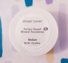 Sheer Cover Perfect Shade Mineral Foundation Medium 1.5g New & Sealed Powder