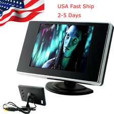 3.5inch TFT LCD Color Screen Car Auto Video Rear View Backup Monitor Camera【US】