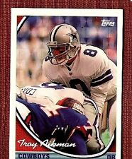 34b6c0403 1994 Topps Special Effects Troy Aikman  400 Dallas Cowboys Football Card